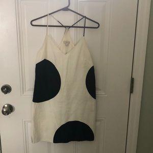 J. Crew white dress